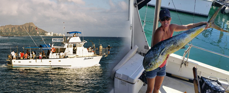 Oahu shared fishing charters waikiki tours for Bottom fishing oahu